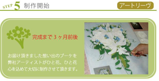 名古屋市ブーケ保存加工はアートリーブ